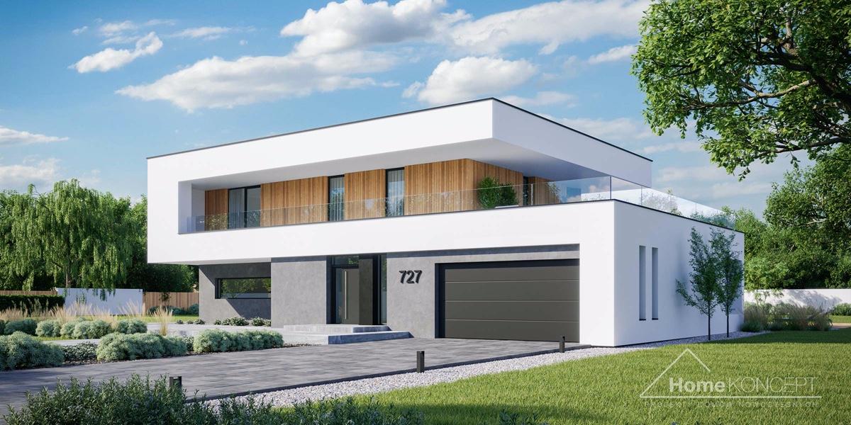 Projekt individuálního domu 3