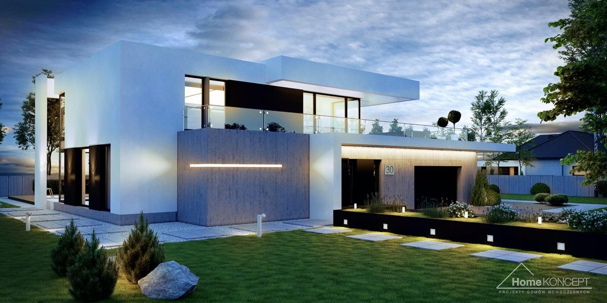 Projekt individuálního domu 2