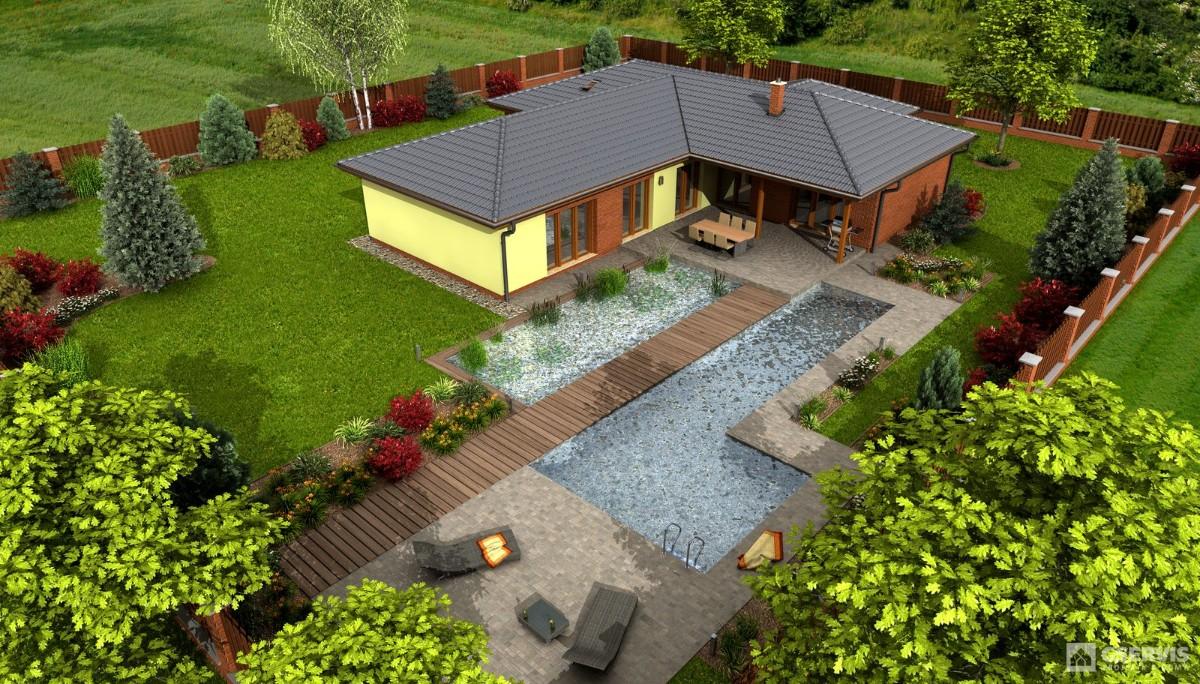 Luna 1, bungalov
