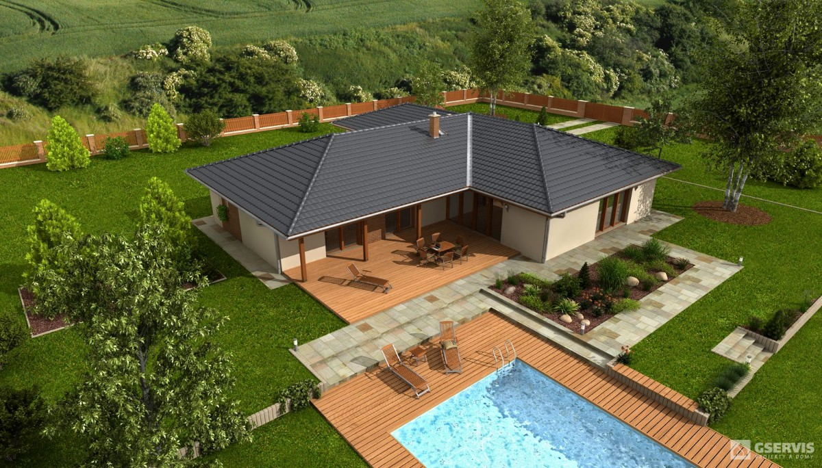 Savana, bungalov